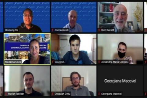 Screenshot from Virtual Workshop for Romania